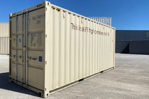 20′ High Cube New Container